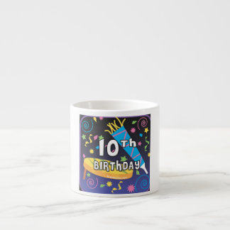 10mo Cumpleaños Taza Espresso