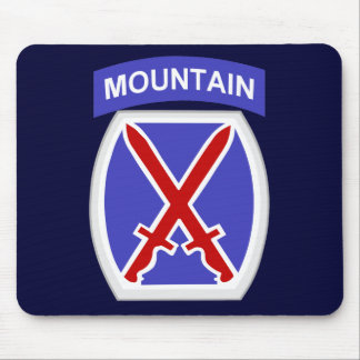 10mo División de la montaña Alfombrillas De Ratón