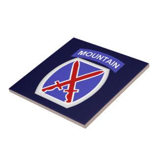 10mo División de la montaña Azulejos