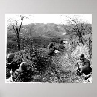 10mo División de la montaña Póster