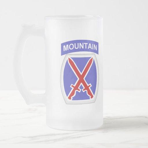 10mo División de la montaña Tazas De Café
