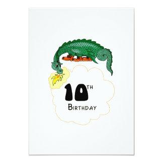 10mo Dragón del cumpleaños Invitacion Personal