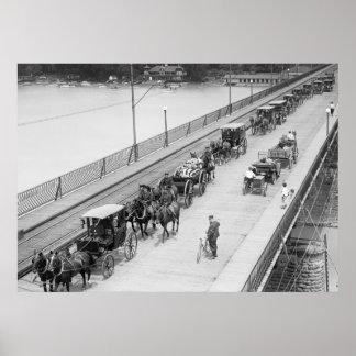 10mo Entierro de la caballería: 1917 Póster