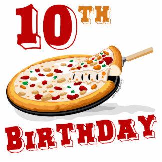 10mo Fiesta de la pizza del cumpleaños Escultura Fotografica