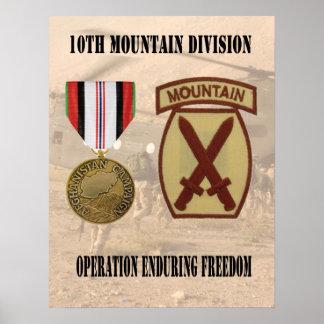 10mo Libertad que aguanta de operación de la divis Póster