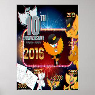 10mo poster 2016 del aniversario de Chester