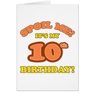 10mo presente de cumpleaños tonto felicitaciones