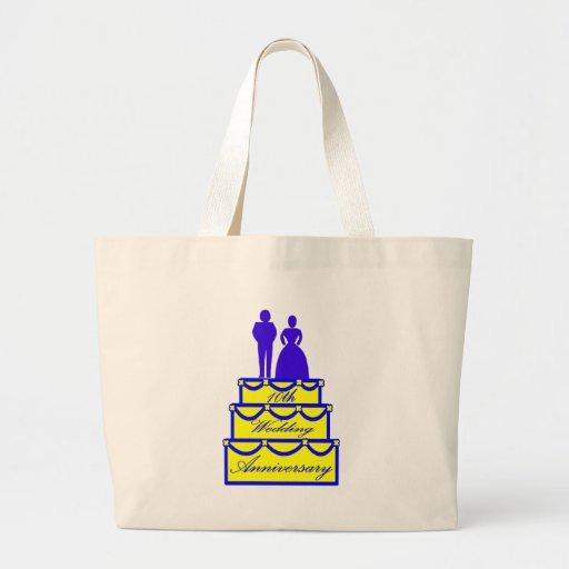 10mo Regalos del aniversario de boda Bolsa De Mano