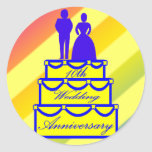 10mo Regalos del aniversario de boda Etiquetas