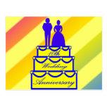 10mo Regalos del aniversario de boda Postales