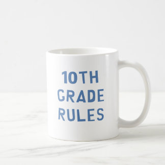 10mo Reglas del grado Taza Clásica