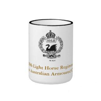 10mo Taza regimental del caballo ligero