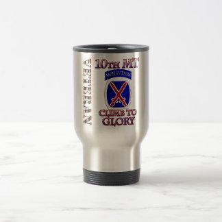 10mo Veterano de la montaña OIF Tazas De Café