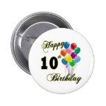 10mos regalos de cumpleaños y ropa felices del cum pins