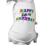 10mos regalos de cumpleaños y ropa felices del cum camisetas de mascota