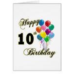 10mos regalos de cumpleaños y ropa felices del cum felicitacion