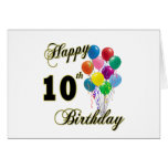 10mos regalos de cumpleaños y ropa felices del cum tarjeton