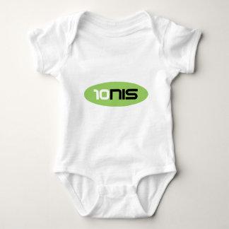 10NIS Tennis Brand tee shirt or baby bodysuit