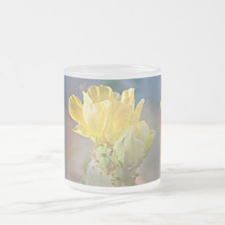 10oz Frosted Cactus Rose Mug