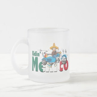 10oz Mexican Themed Frosted Mug