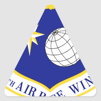 10th Air Base Wing Triangle Sticker