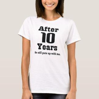 10th Anniversary (Funny) T-Shirt