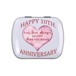 10th. Anniversary Jelly Belly Tin