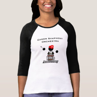 10th Anniversary Logo Women's 3/4 Sleeve Shirt