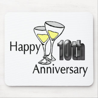 10th anniversary mouse pad