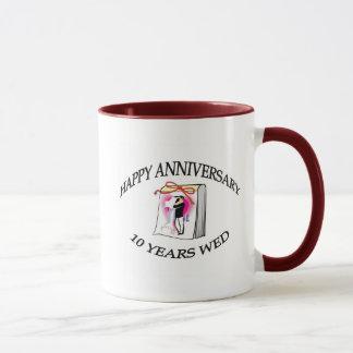 10th. ANNIVERSARY Mug