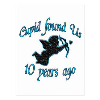 10th. Anniversary Postcard