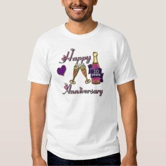 10th. Anniversary Shirt