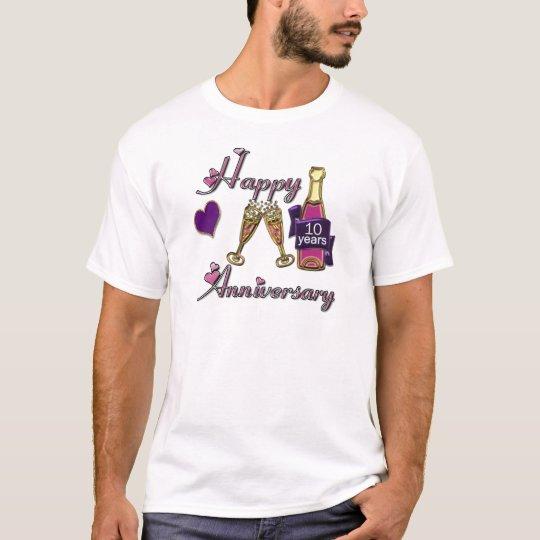 10th. Anniversary T-Shirt