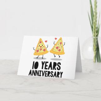 10th Anniversary T-Shirt Card