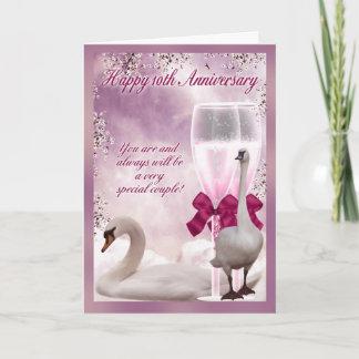 10th Anniversary - Tin Anniversary Card