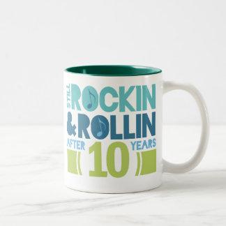 10th Anniversary Wedding Gift Mugs