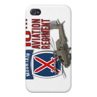 10th Aviation Regiment - Apache Cover For iPhone 4