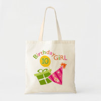 10th Birthday - Birthday Girl Tote Bag