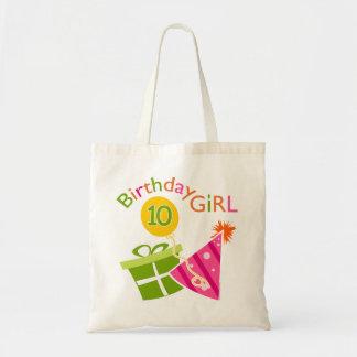 10th Birthday - Birthday Girl Tote Bag