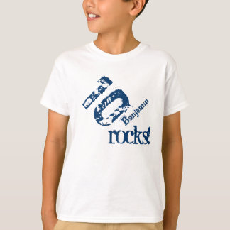 10th Birthday Gift for 10 Year Old Number on Slant T-Shirt