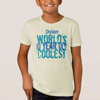 T Shirts For 10 Year Olds 10th Birthday Gift Worlds Coolest Old Boy Shirt R905eed47a95744d7bfd71cbc3f7c53fb 65yya 324