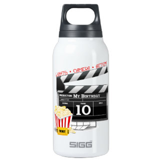 10th Birthday Hollywood Movie Party Thermos Bottle