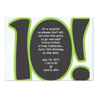 10Th Birthday Party Invitation Wording futurecliminfo