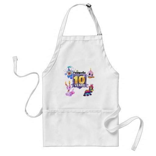 10th Birthday Logo Adult Apron