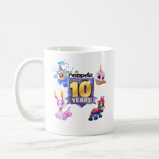 10th Birthday Logo Coffee Mug