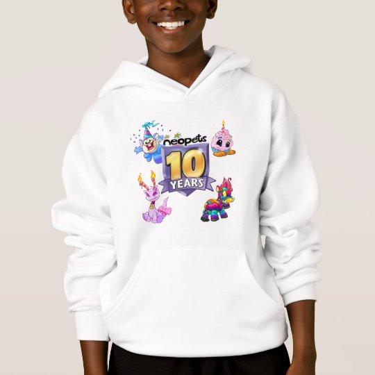 10th Birthday Logo Hoodie