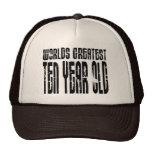 10th Birthday Parties Worlds Greatest Ten Year Old Trucker Hat