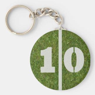 10th Birthday Party Favor Keychain