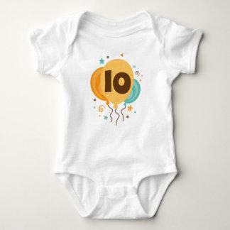 10th Birthday Party Gift Idea Baby Bodysuit