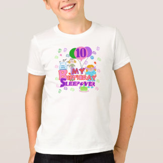 10th Birthday Sleepover T-Shirt